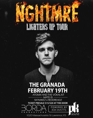 NGHTMRE event poster
