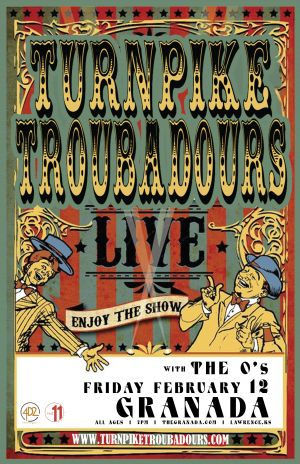 Turnpike Troubadours event poster