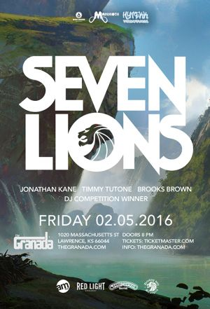 Seven Lions event poster