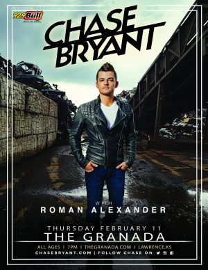Chase Bryant event poster