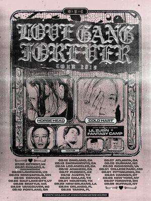 LoveGangForeverTour2019 Poster 11x15 PRINT